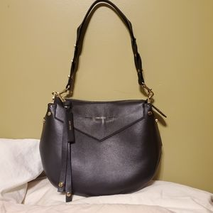 NWT Jimmy Choo Artie Nappa Leather Shoulder Bag